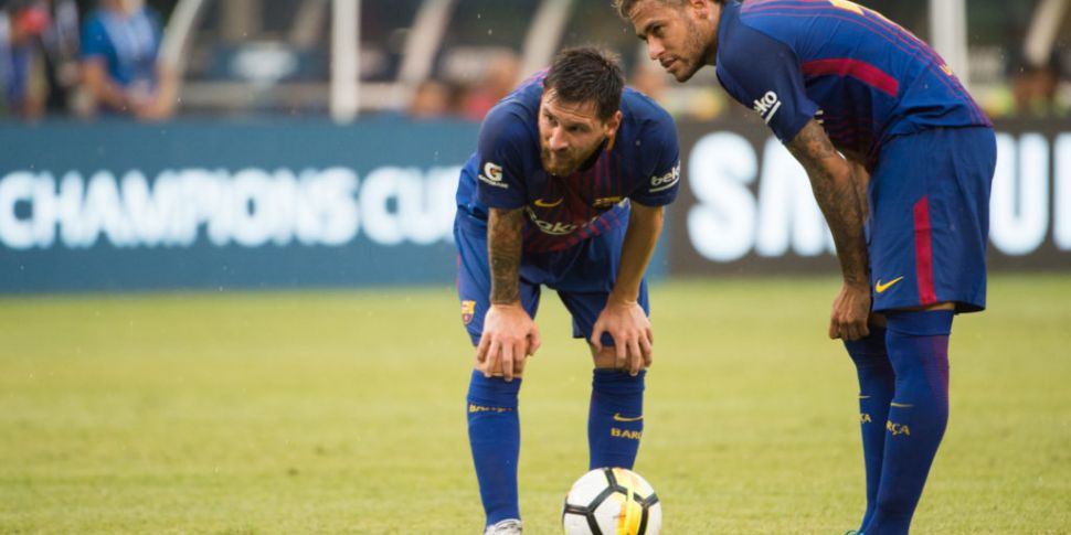 Messi says Neymar would have h...