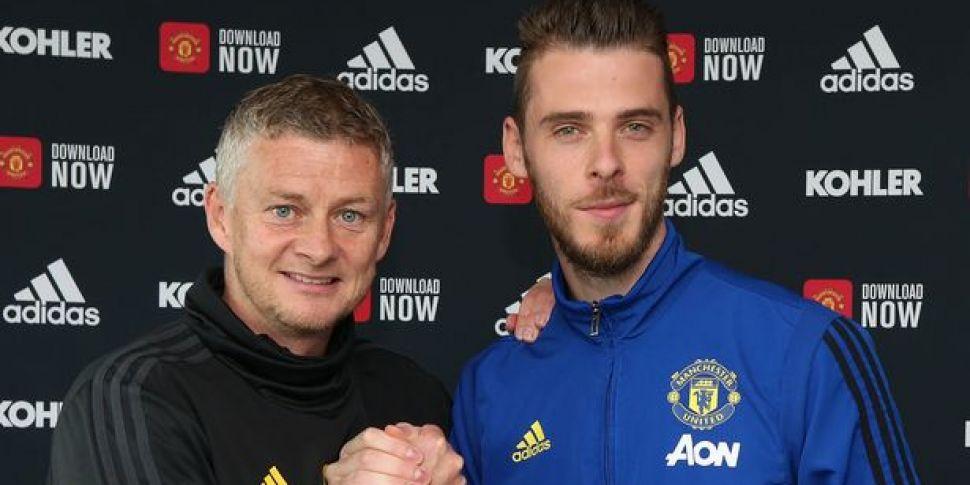 De Gea's new deal a 'boost' to...