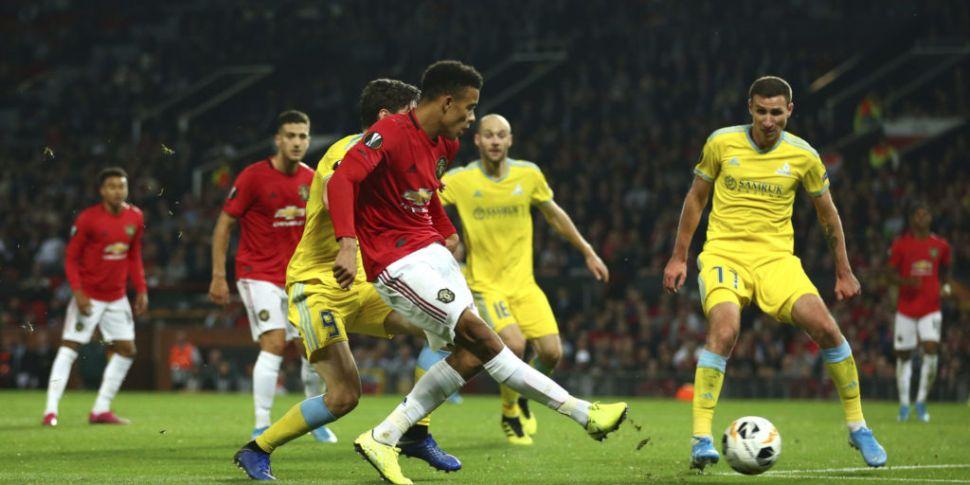 Man United and Arsenal earn Eu...
