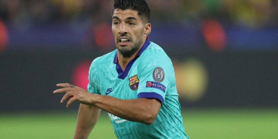Luis Suarez set for Atletico s...