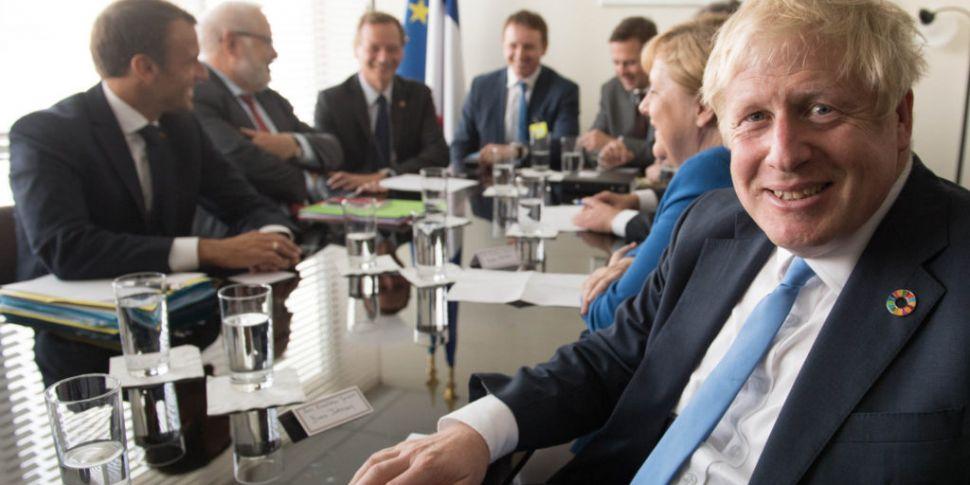 Leo Varadkar And Boris Johnson...
