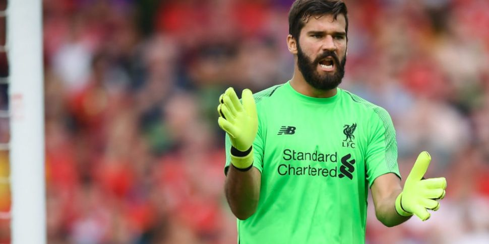 Klopp says Alisson in contenti...