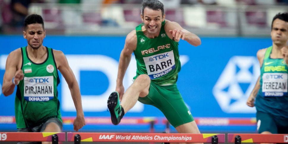 Thomas Barr impresses at World...