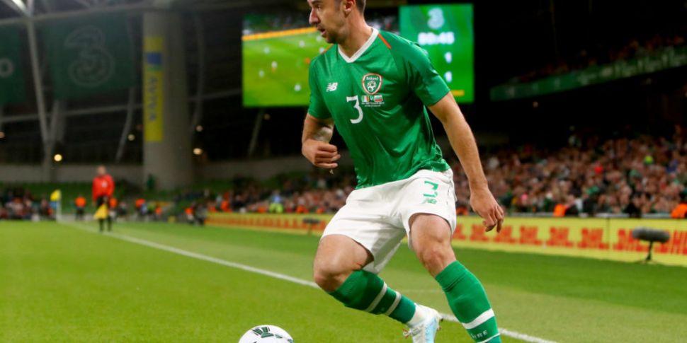 Irish defender Enda Stevens -...