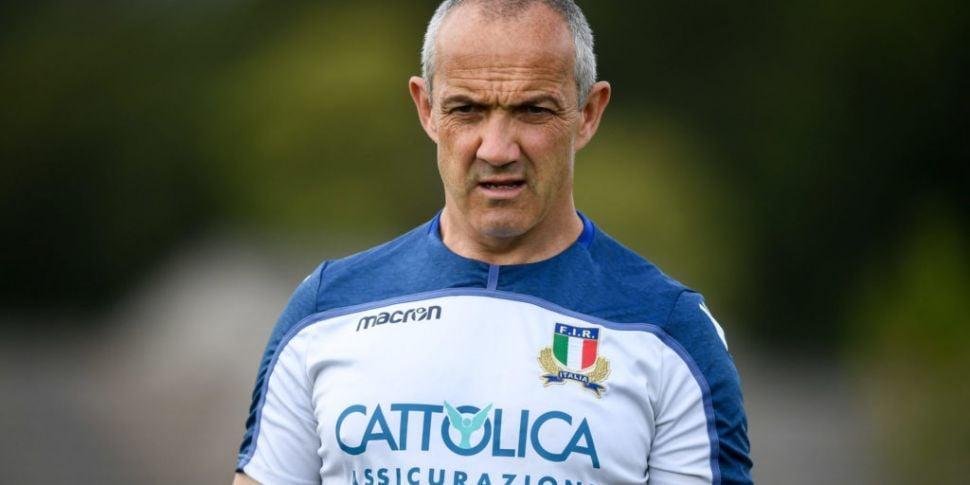Conor O'Shea laments Lovotti r...