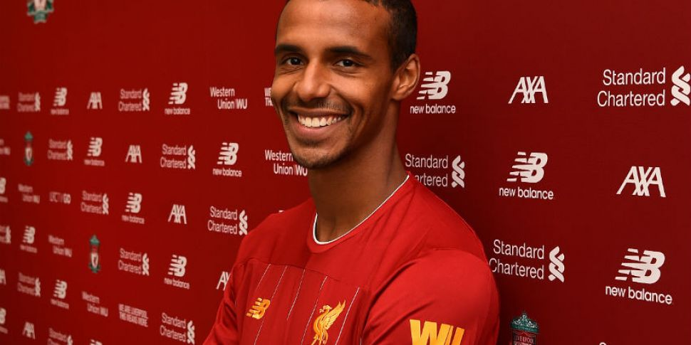 Joel Matip signs new Liverpool...