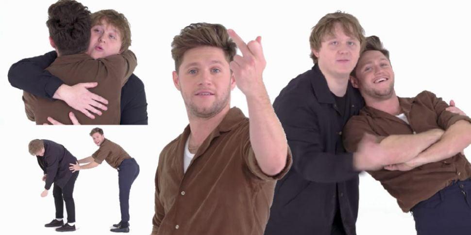 WATCH: Niall Horan & Lewis Cap...