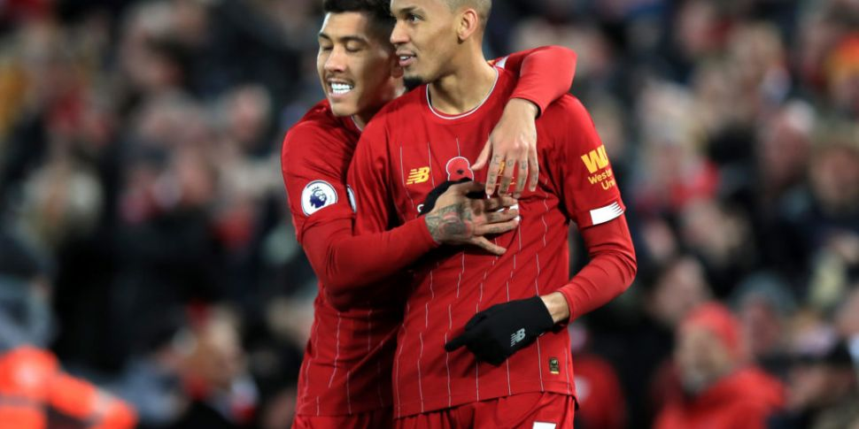 Fabinho ruled out until the Ne...