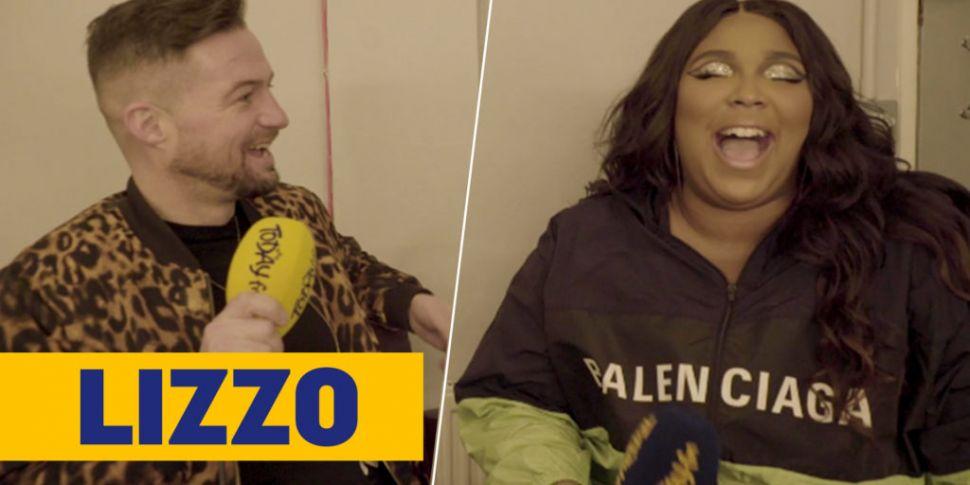 Lizzo Tells Fergal D'Arcy She'...