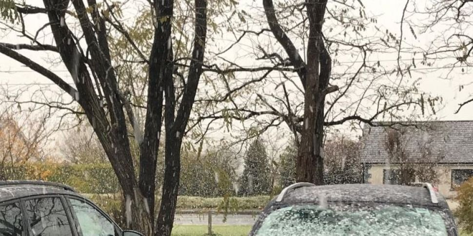 Snow Falling In Parts Of The C...
