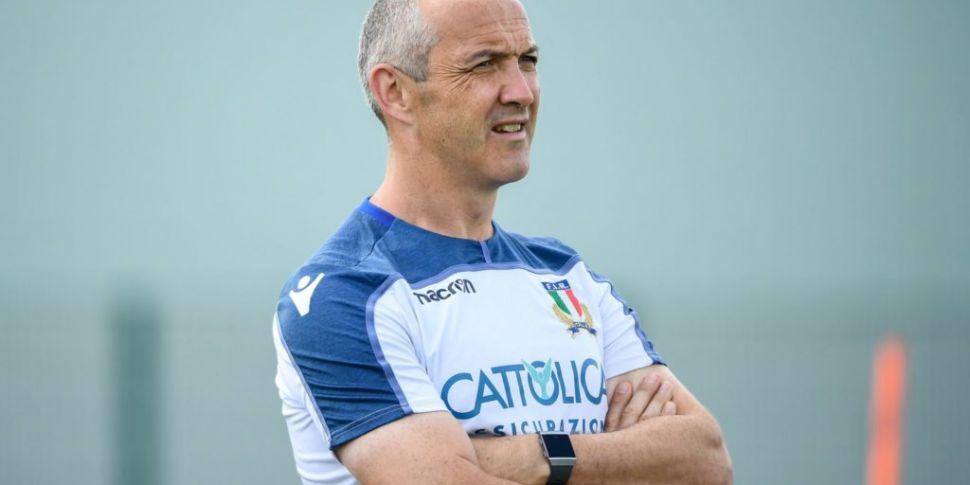 Conor O'Shea steps down as Ita...