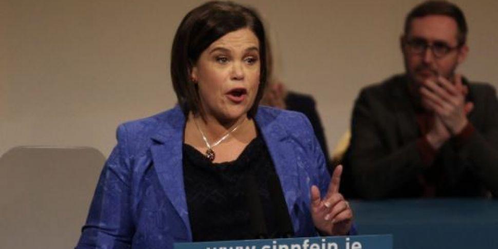 Sinn Féin Want A Poll On Irish...