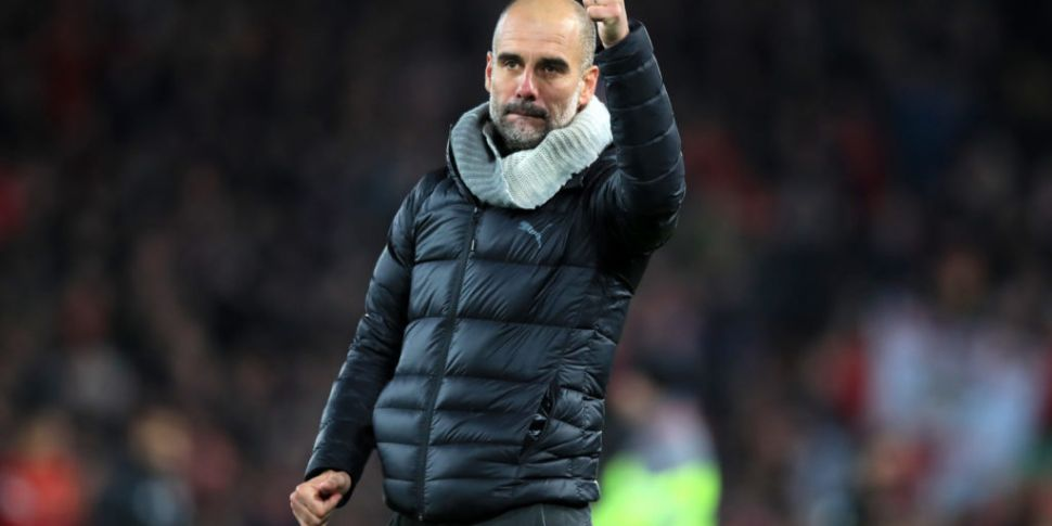 Guardiola insists he's staying...