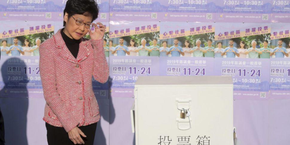 Massive Turnout For Hong Kong...