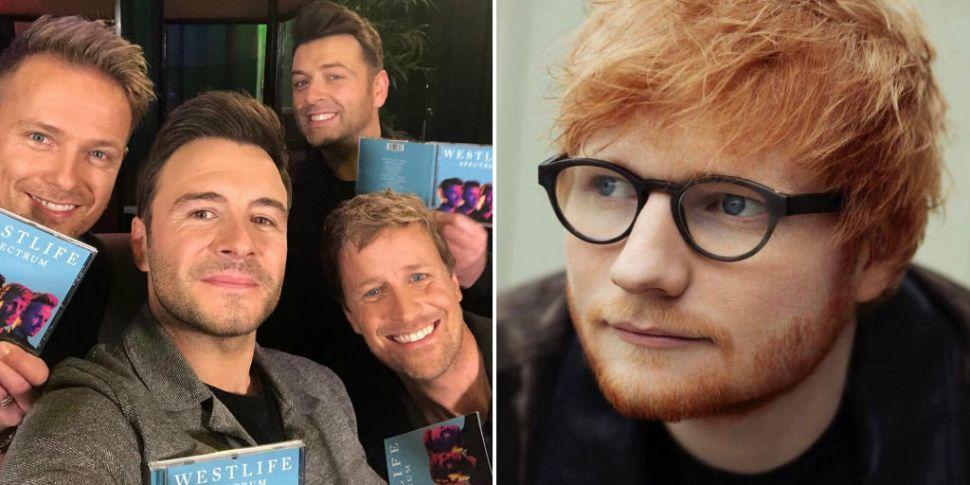 Westlife Hint At An Ed Sheeran...
