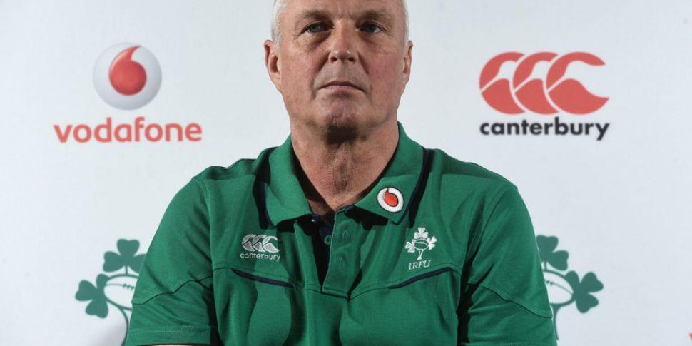 Ireland men's team manager Pau...