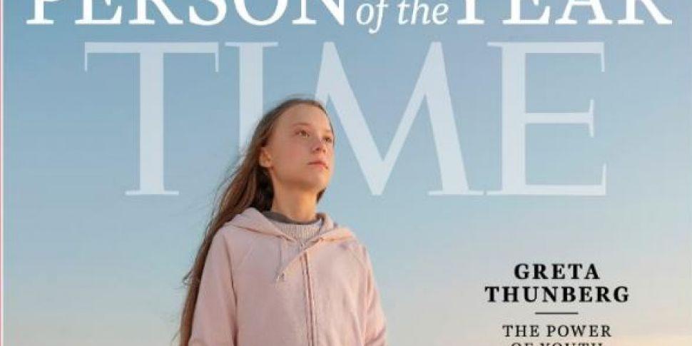 Greta Thunberg Named Time's Pe...