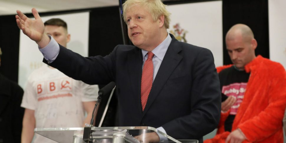 Conservative Party Wins UK Gen...