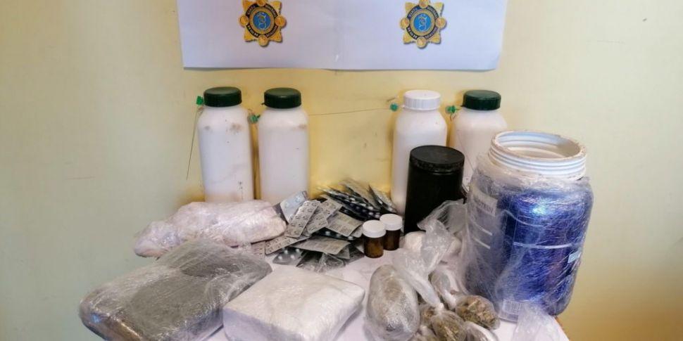 Man Arrested After Drugs Seize...
