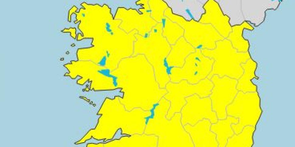 Status Yellow Fog Warning Exte...
