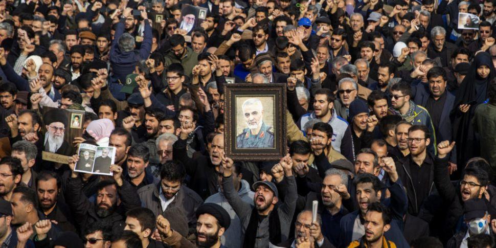 Iran Launches Ballistic Missil...