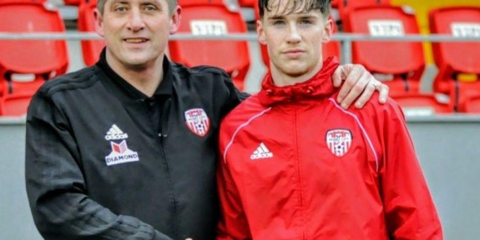 Derry City sign Sheffield Unit...