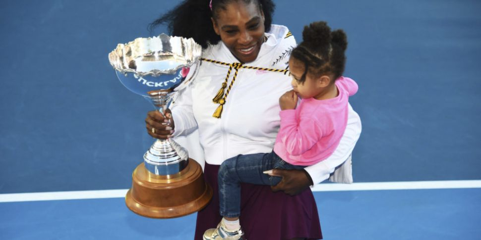 Serena Williams seals first ti...