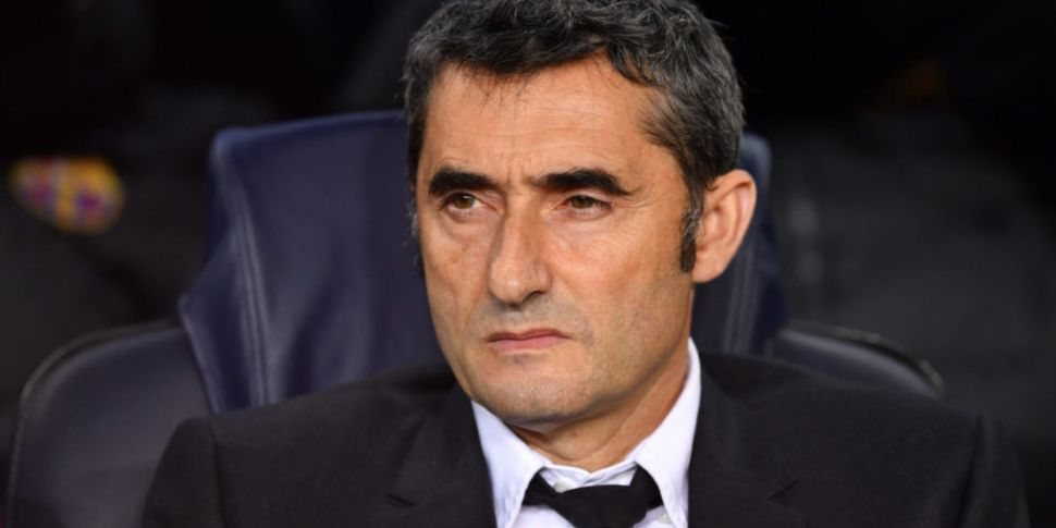 Ernesto Valverde's farewell me...