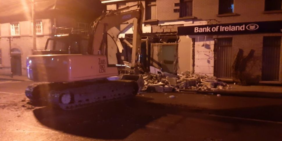 Bank Damaged During Attempted...