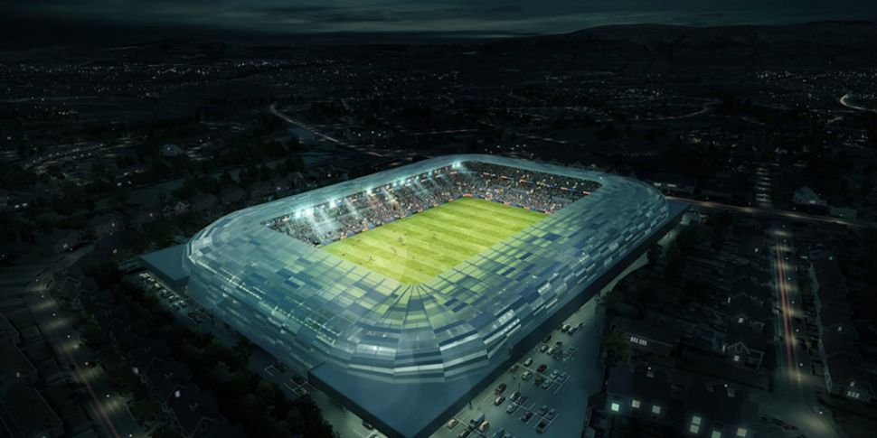 Redevelopment of Casement Park...