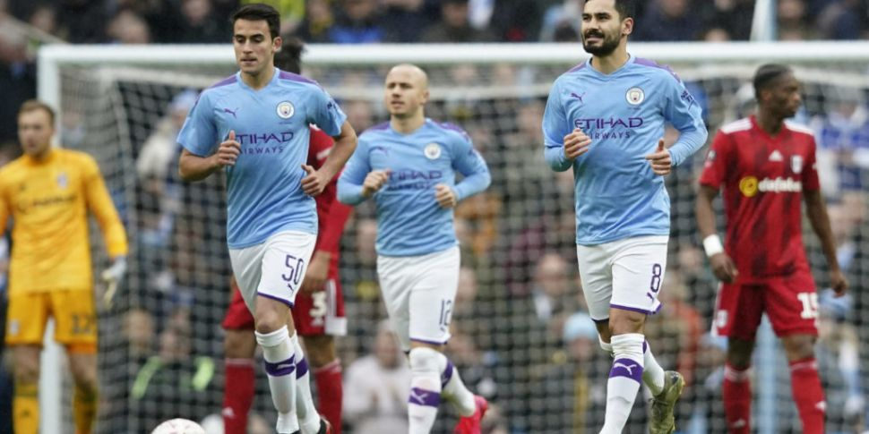Manchester City canter to FA C...