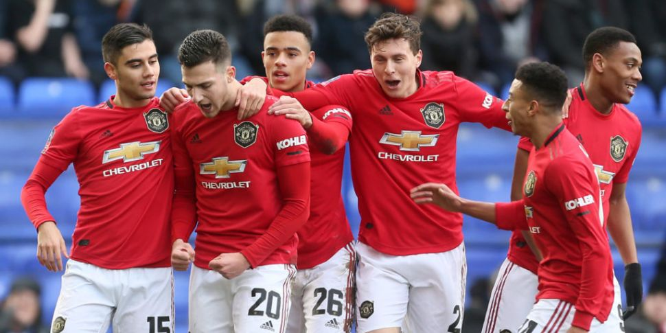 Manchester United hit Tranmere...