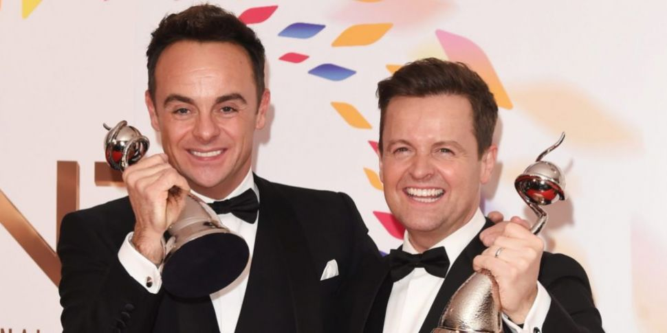 Ant and Dec continue their win...