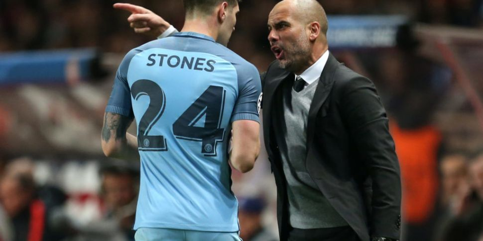 Pep Guardiola admits John Ston...