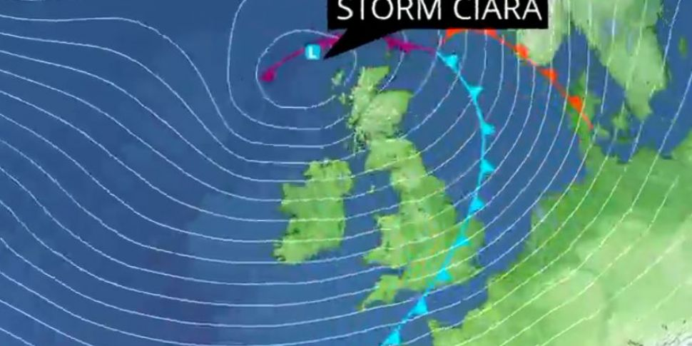 Orange Alerts Issued For Storm...