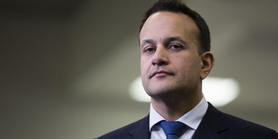Taoiseach Cutting St Patrick's...