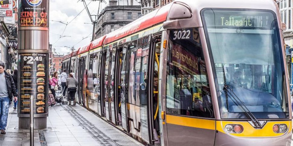 Plans For Luas Green Line Exte...