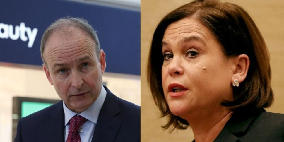 Sinn Fein & Fianna Fail Leader...