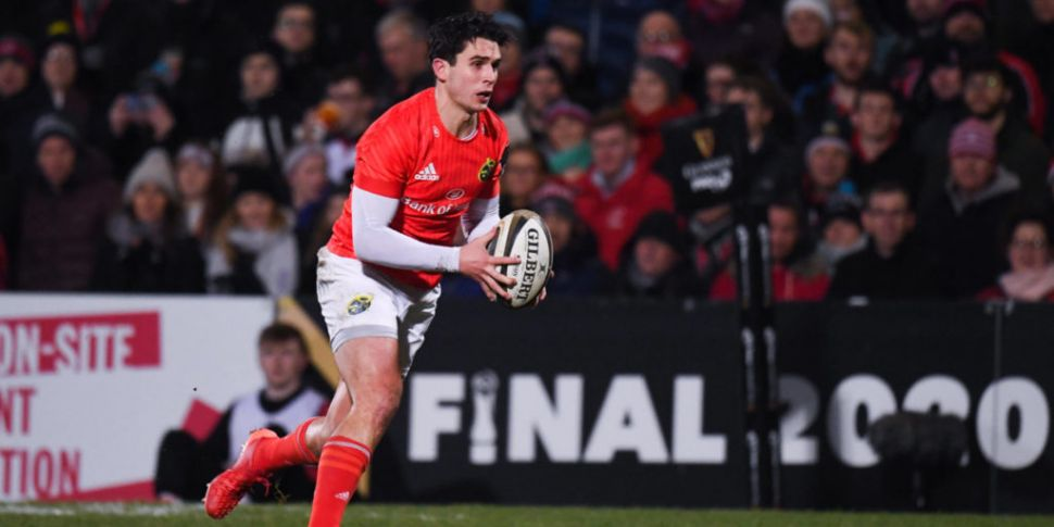 Joey Carbery could miss the re...