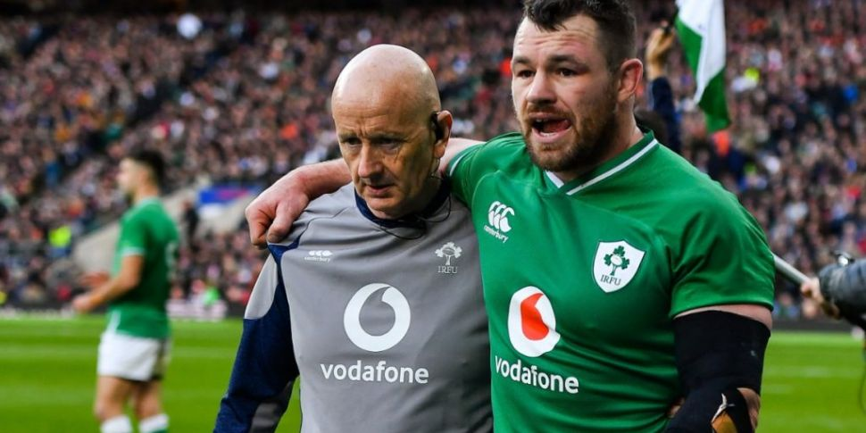 Cian Healy ruled out of the re...