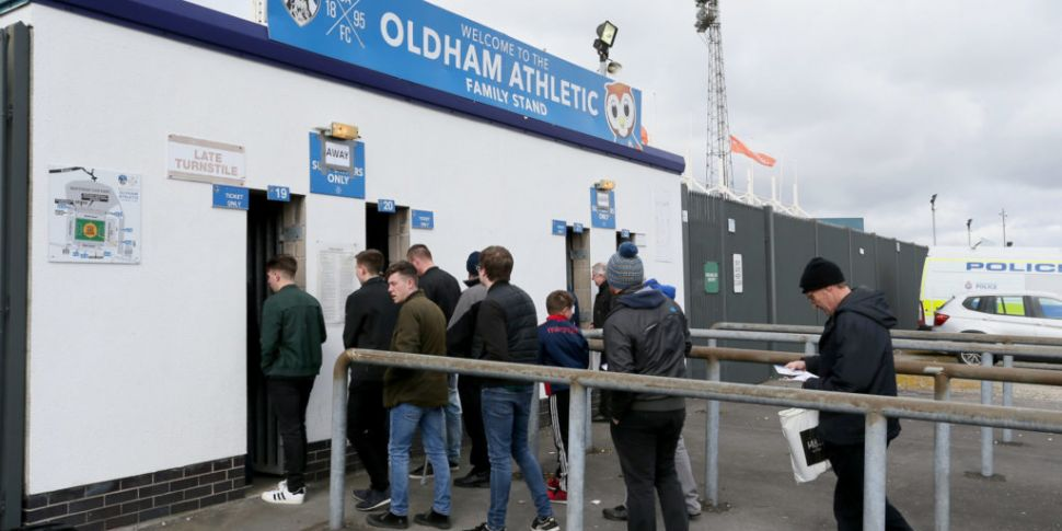 Oldham Athletic served with a...