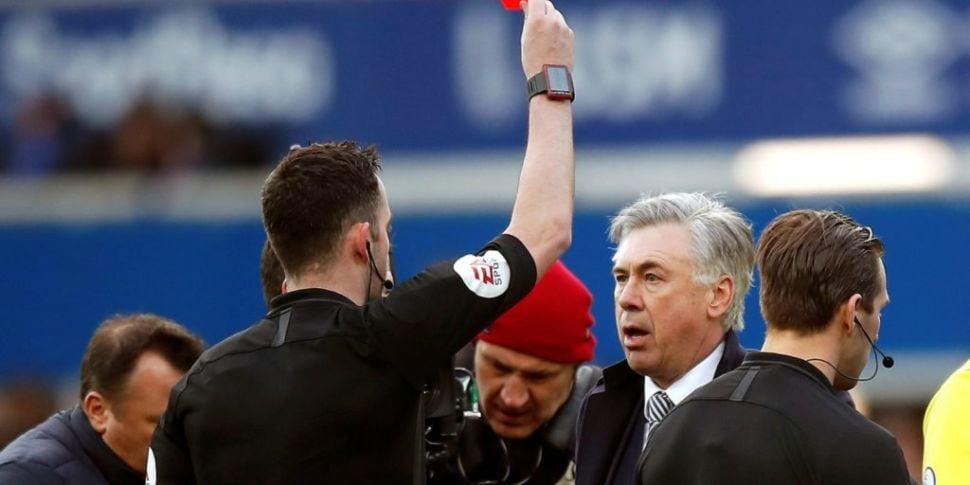 Carlo Ancelotti handed miscond...