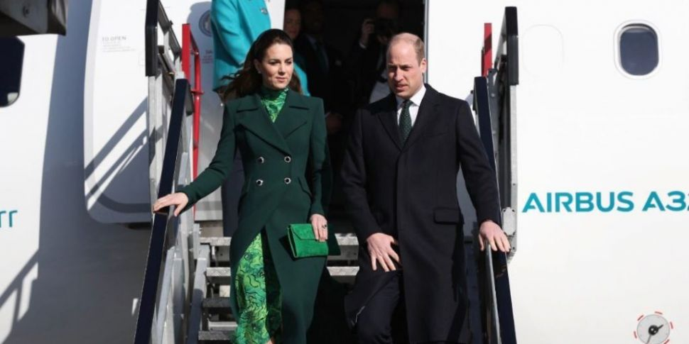 William And Kate Arrive In Dub...