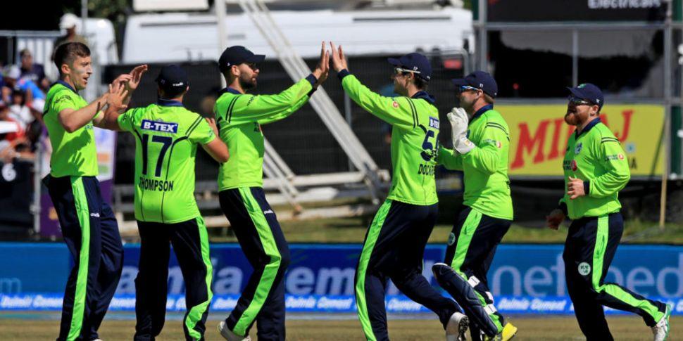 Ireland's cricket series again...