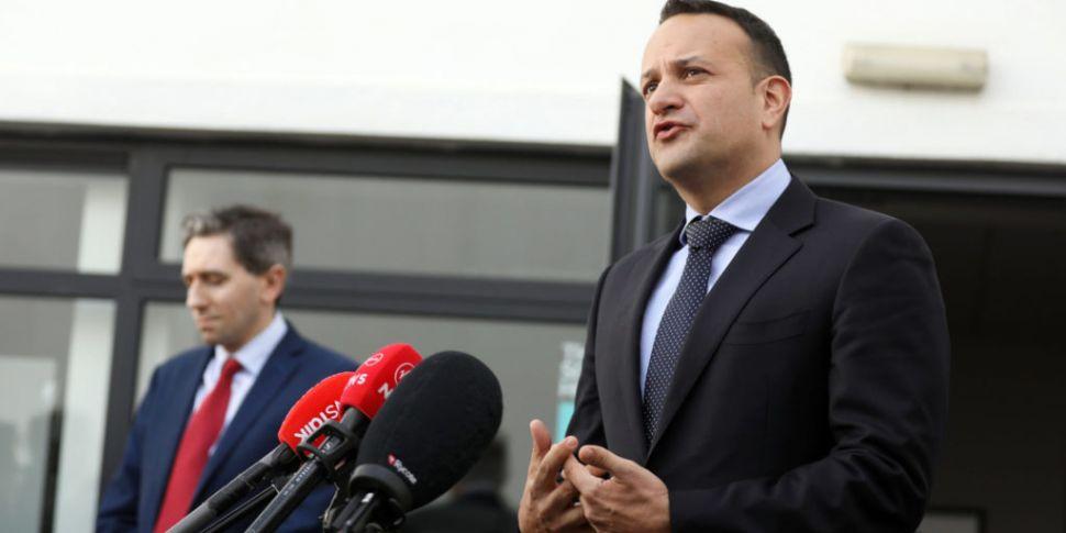Taoiseach Suggests Full Lockdo...