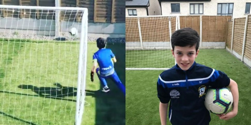 WATCH: Irish Boy Goes Viral Wi...