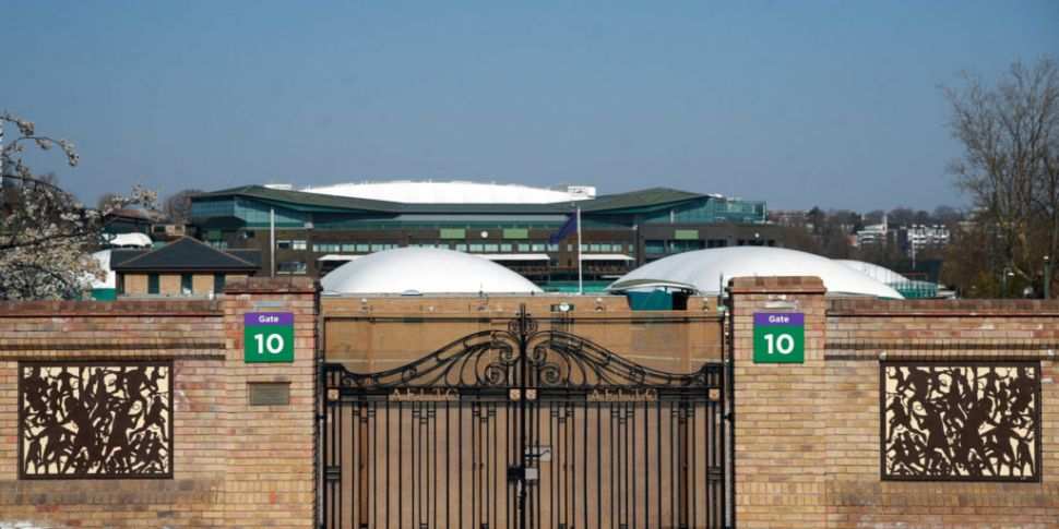 Wimbledon tennis championships...
