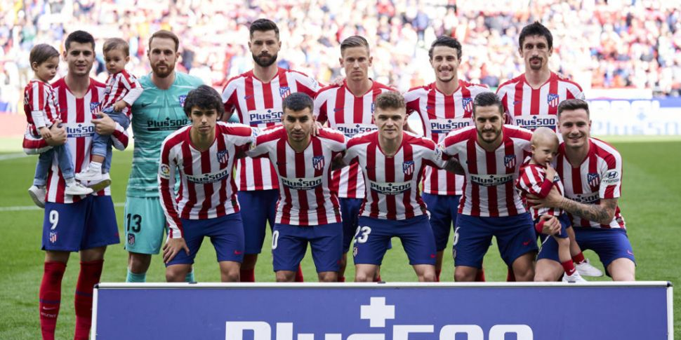 Atletico Madrid players and ma...