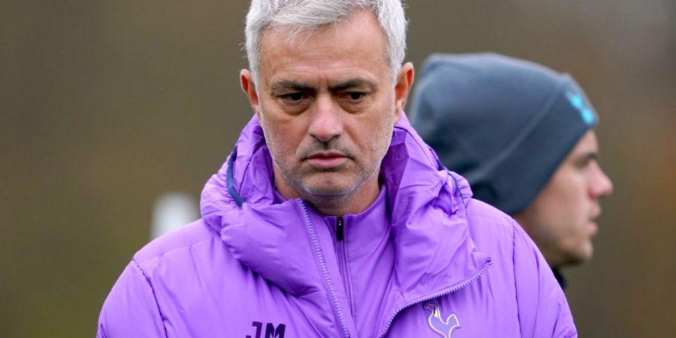 Mourinho works with Ndombele,...