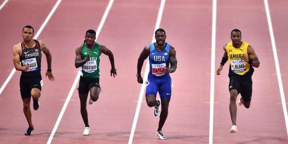 World Athletics Championships...